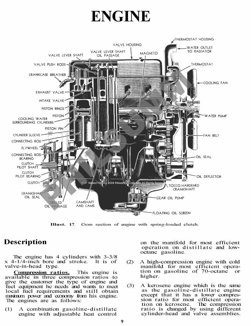 farmall super h parts diagram  farmall  free engine image