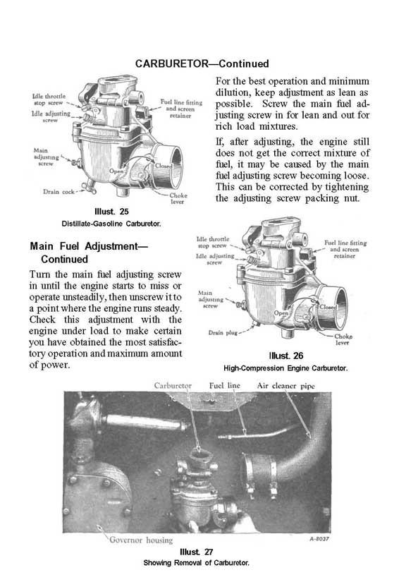 Farmall M  U0026 Mv Tractor Operators Manual
