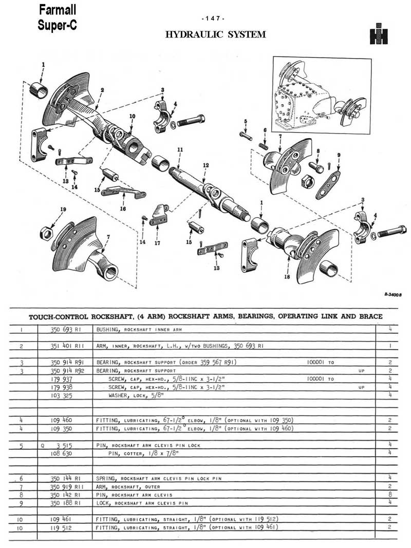 farmall super c parts diagram farmall super c electric diagram