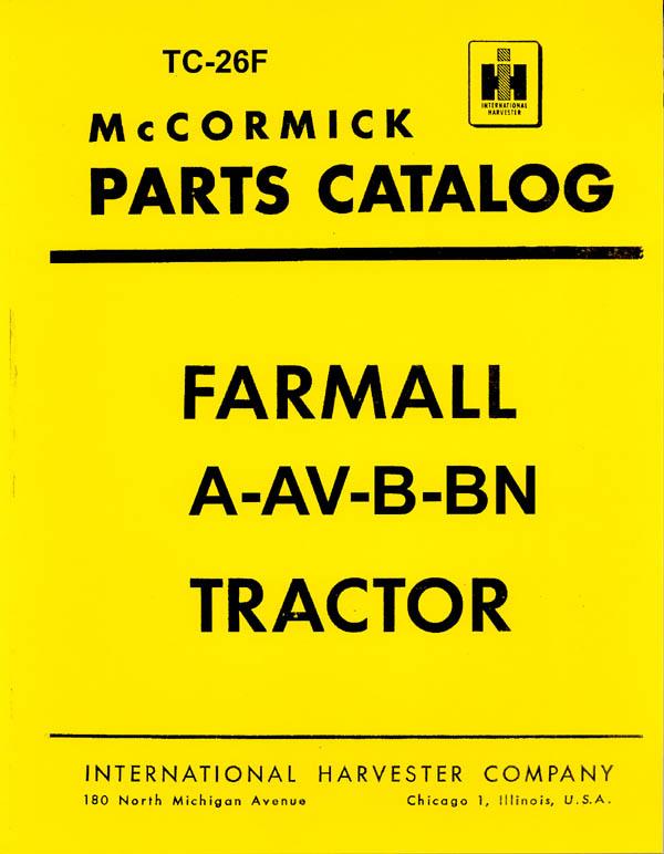Farmall H Free Repair Manual - Blacklist