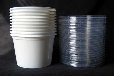 16 ounce Deli Containers & lid combo (25)